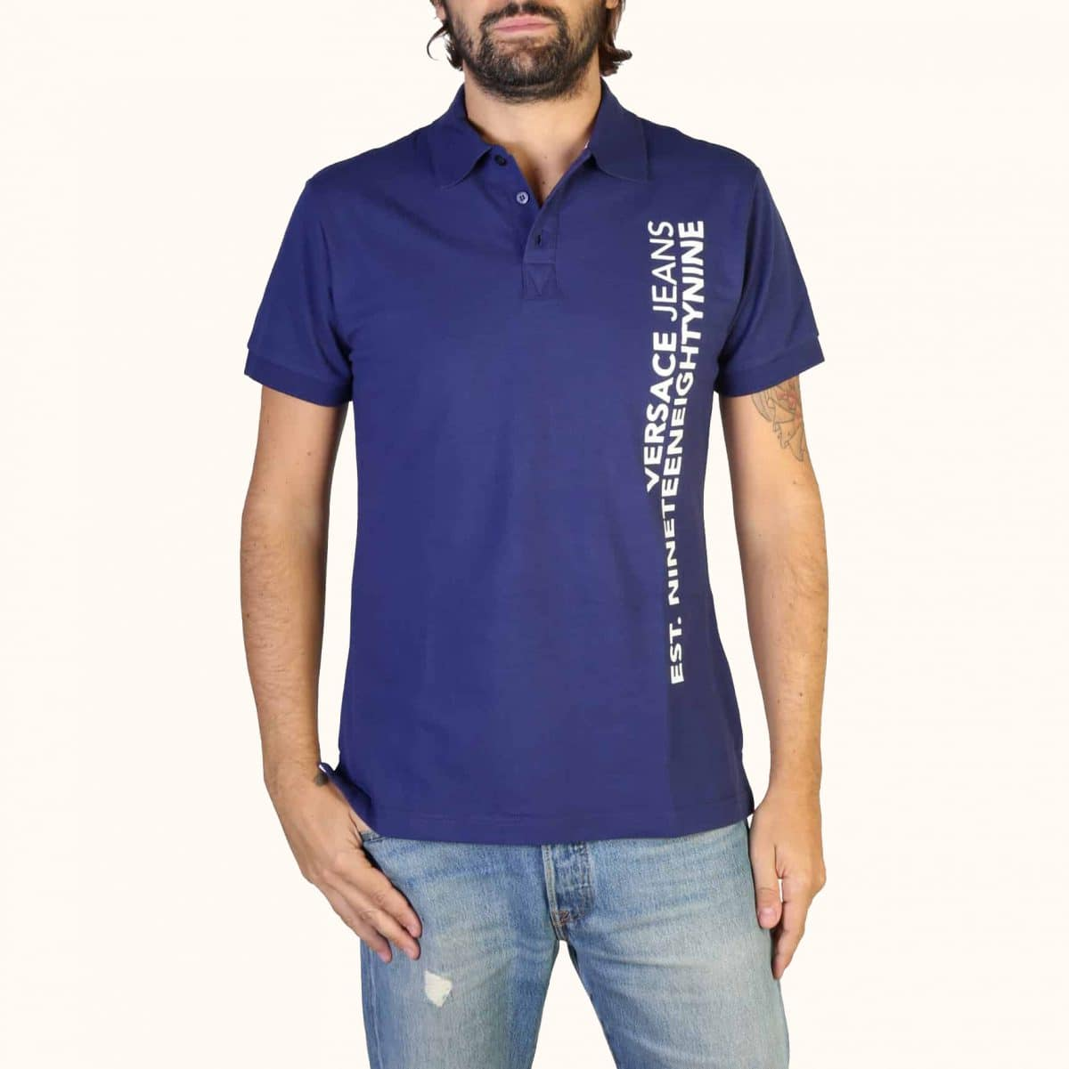 Versace Jeans – B3GTB7P6_36571 – Blu AzzurraMI mare intimo costumi da spiaggia bagno Jesolo lido vendita offerta sconti promozione shop online webshop